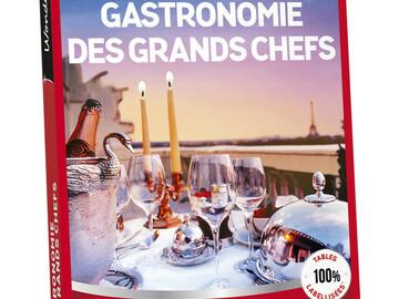 """Vente: e-coffret Wonderbox """"Gastronomie des grands Chefs"""" (149,90€)"""