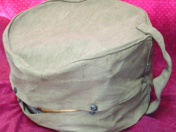 Selling with online payment: Vintage 8x12 Mcintosh canvas tom case Ludwig or Leedy