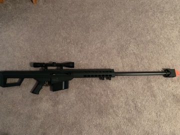 Selling: Lancer Tactical Air Soft gun