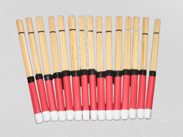 VIP Members' Sales Only: The New Refined Bamboo Brushes in Red ( Will Ship)
