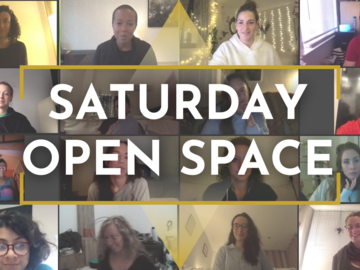 Monthly Membership: Saturday Open Space ✨ SOS ✨ 4 Weeks Program