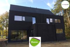 .: Moderne halfopen bebouwing in houtskelet | door 3bouw