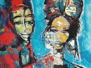 Sell Artworks: Lei e lui insieme