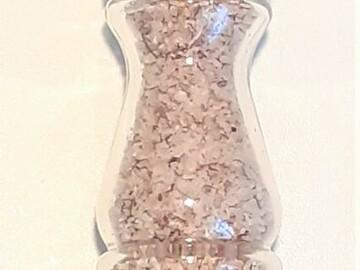 Vente avec paiement en ligne: Sel fou divers en moulin rechargeable en verre, 85 gr.
