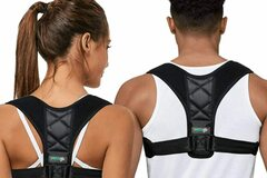 Liquidation/Wholesale Lot: Posture Corrector Adjustable Upper Back Brace