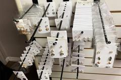 Liquidation/Wholesale Lot: $0.15 Each Pair. 500 Pairs of Earrings.