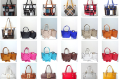 Liquidation/Wholesale Lot: Variety of Ladies' Handbags, Mixed Colors & Designs, August Style