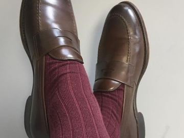 Selling with online payment: Penny Loafers Prince Jorge 7,5uk