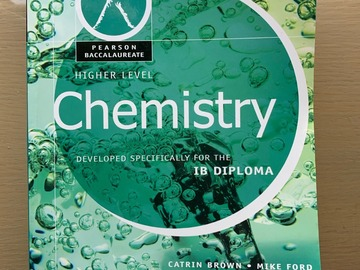 Selling with online payment: Pearson Baccalaureate: Higher Level Chemistry for the IB Diploma
