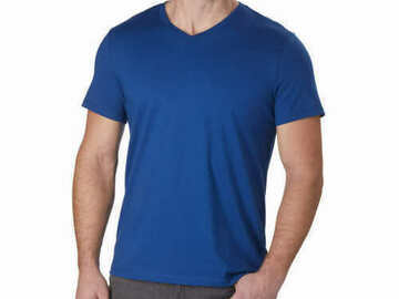 Liquidation/Wholesale Lot: Calvin Klein T-Shirts Size Large Lot of 10 New with Tags Blue V-N