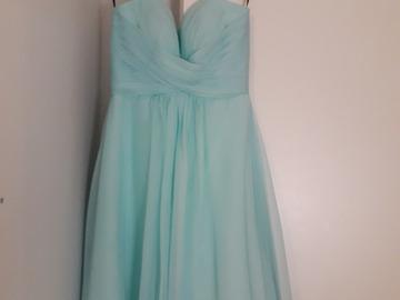 Ilmoitus: Turkoosi mekko, koko 34