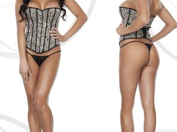 Liquidation / Lot de gros: (30) Sets Corsets Lingerie Clubwear Apparel $575 + MSRP