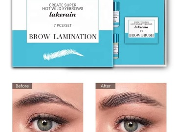 Selling with online payment: At-Home Brow Lamination Kit