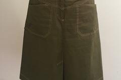 Selling: Khaki A-line Utility Skirt