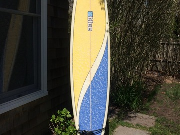 "For Rent: 7'10 ""Blue"" Funboard"