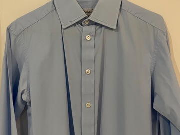 Selling with online payment: Turnbull & Asser Blue Cotton Shirt