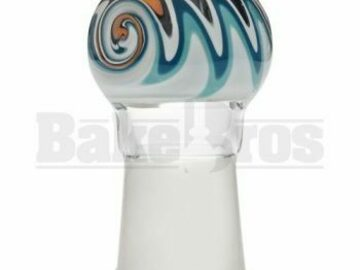 Post Now: Dome Fire & Ice Reversal Art Teal Orange 18mm