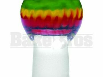 Post Now: Dome Heavy Glass Rasta Rasta 18mm
