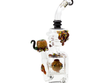 Post Now: Empire Glassworks – Beehive Recycler Water Pipe