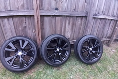 Selling: Nissan wheels and tires