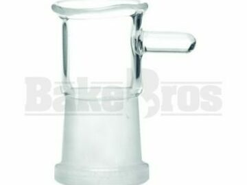 Post Now: Dome Flared Top W/ Handle Clear 18mm