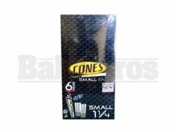 Post Now: Cones Rolling Papers Small 1 1/4 Unflavored Pack Of 32