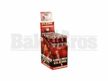 Post Now: Cyclones Pre Rolled Cones Clear Strawberry Pack Of 24