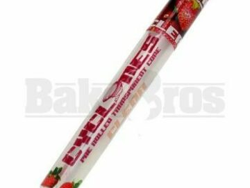 Post Now: Cyclones Pre Rolled Cones Clear Strawberry Pack Of 1