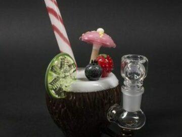 Post Now: Empire Glassworks Coconut Colada Dab Rig