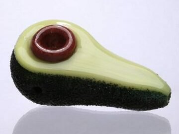 Post Now: Empire Glassworks – Avocadope Hand Pipe