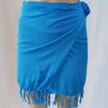 Liquidation/Wholesale Lot: Beach 100% Rayon Skirt with Fringes 30 pieces