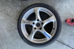 "Selling: 18"" Porsche Wheels"