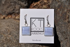Selling with online payment: Chalcedony Sterling Silver Earrings