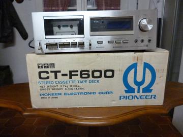 Vente: Platine K7 Pioneer CT-F600