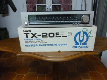 Vente: Tuner Pioneer TX-205L