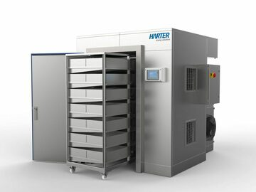 Equipment/Supply sales (w/ pricing): Harter chamber dryer