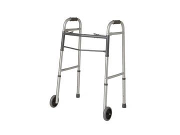 SALE: Aluminum Folding Walker with Front Wheels | Kitchener