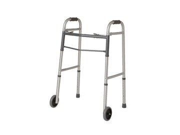 SALE: Aluminum Folding Walker with Front Wheels | Guelph