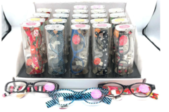 Liquidation/Wholesale Lot: 100 Fashion Womens  Reader Glasses -Excellent Quality- w/Display