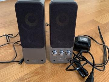 Myydään: Creative Stereo Speakers
