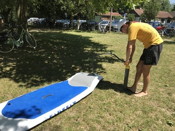 to rent your board per day: Verleih Stand up Paddles