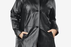 Liquidation/Wholesale Lot: 5 Plus Size Leather Coats