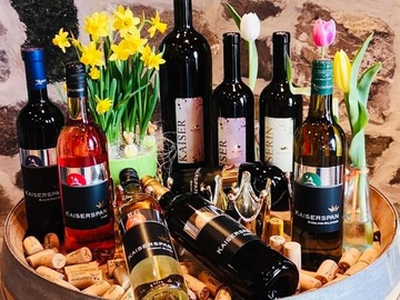 Workshop Angebot (Termine): Paint & Wine auf dem Weingut Kaiserspan