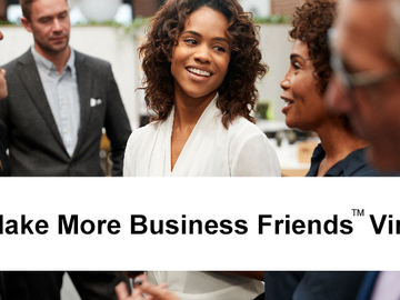 Announcement: Make More Business Friends VIRTUALLY