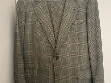 Online payment: Bespoke Camps de Luca Green POW Glen Check Suit Size 38UK/48FR