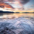 Info Only: Ice Stacks at Utah Lake