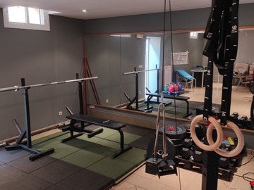 Renting with online payment: Sala Box Gym privada + Entrenamiento personal (OPCIONAL)