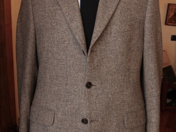 Selling with online payment: RTW sport tweed jacket 40/50 short