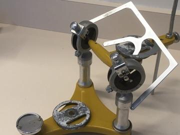 Gebruikte apparatuur: Articulator 2x