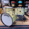 Selling with online payment: 1950's Gretsch Broadkaster 4pc in White Marine Pearl 20,13,16,14